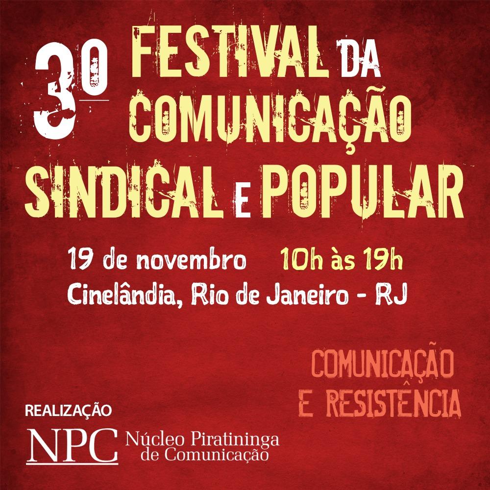 Festival de Comunicação Sindical e Popular