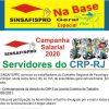 Trabalhadores do CRP-RJ realizam assembleia nesta sexta (18)